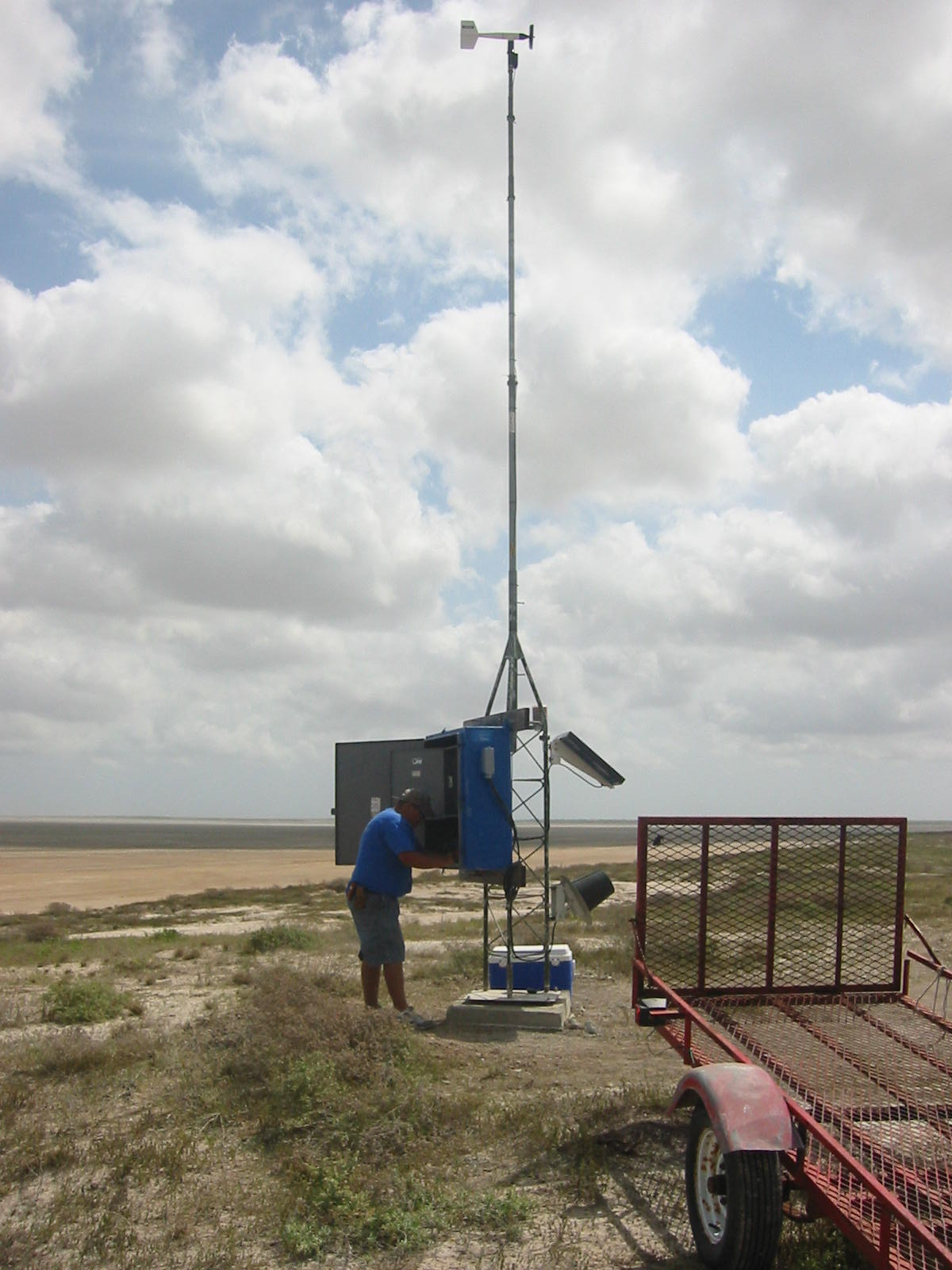 Bahia Grande Meteorological Station
